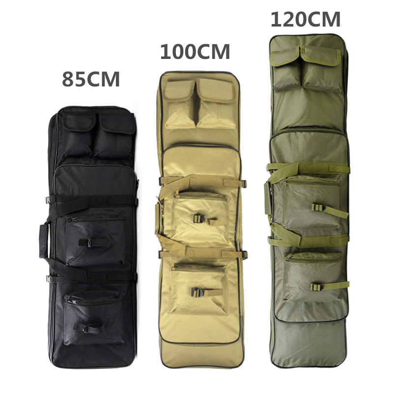 85/100/120CM Nylon Rifle Case Hunting Bag High Density Tactical Military Carbine Soft Bag Airsoft Holster Gun Rifle Accessories