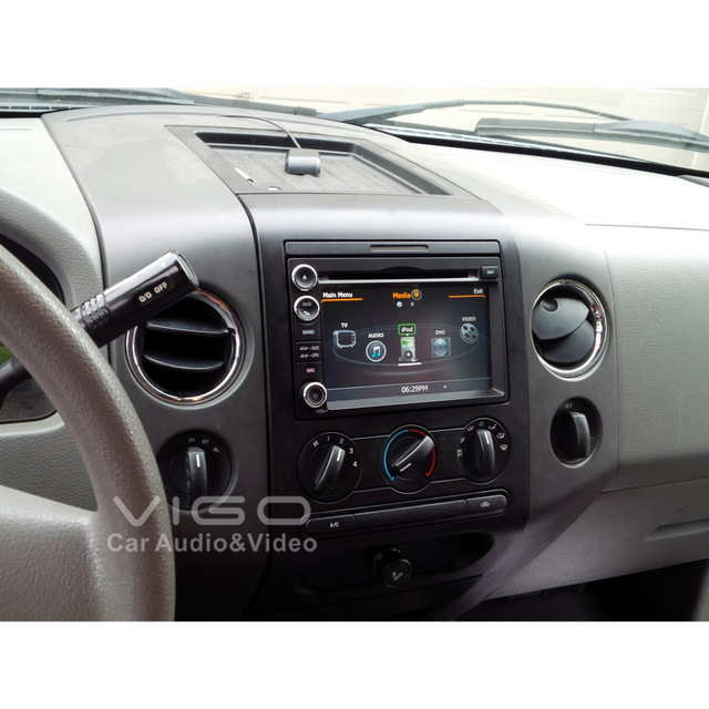 Car Stereo Gps Navigation For Ford F  Fusion Explorer Expedition Edge Radio Dvd Player