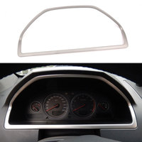Stainless Steel Car Interior Dashboard Console Panel Frame Cover Trim For Volvo XC90 2002 2007 2008 2009 2010 2011 2012 2014