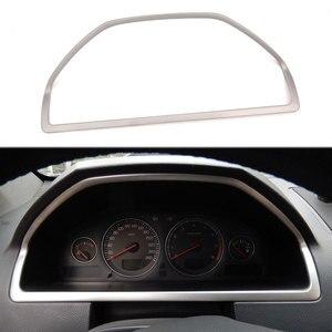 Ze stali nierdzewnej wnętrza deski rozdzielczej samochodu panel konsoli dopasowane obramowanie ramki dla Volvo XC90 2002-2007 2008 2009 2010 2011 2012-2014