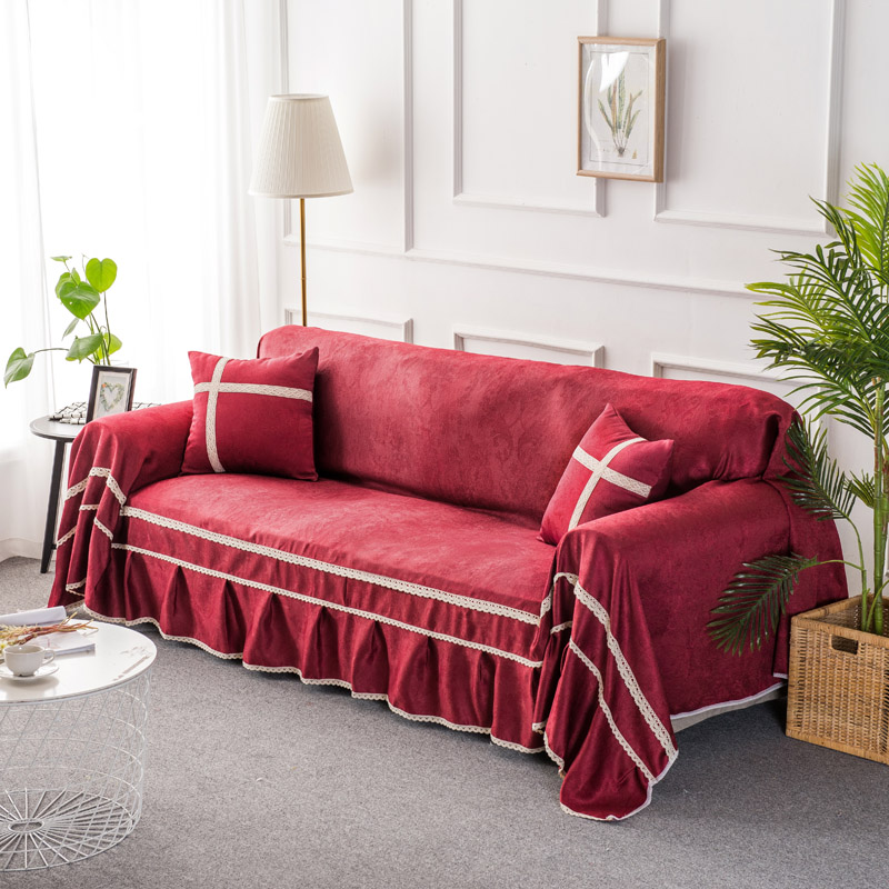 Cloth Sofa Set: High Quality Solid Color Sofa Set 8 Styles All Inclusive