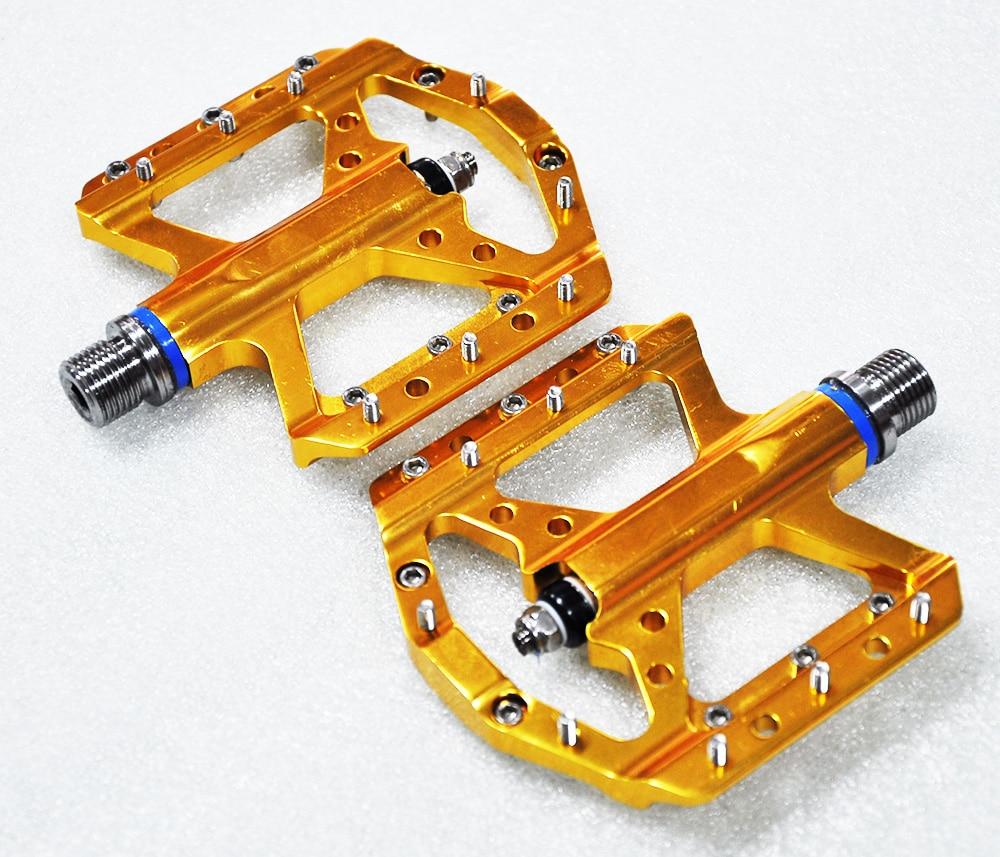 Vtt vélo pédale roadbike CNC alliage d'aluminium roulement pédales Ultra léger axe titane
