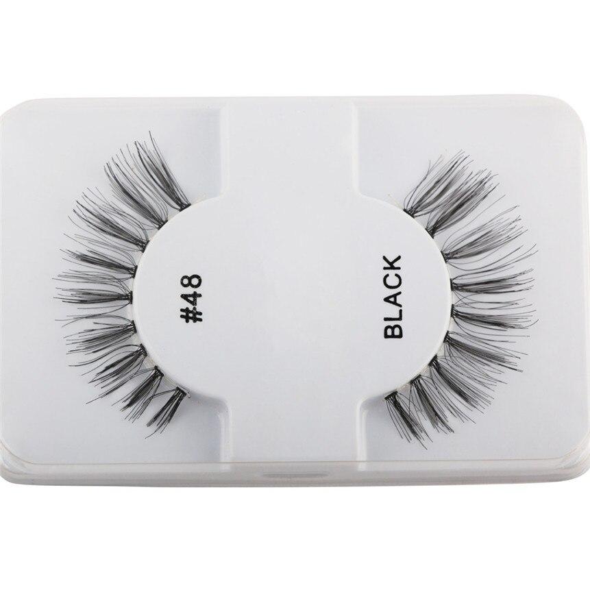 1 Pair Luxury 3D False Eyelashes Natural Thick Eye Lashes Extension Eye Makeup Fake Eyelashes Drop Shipping 08f8