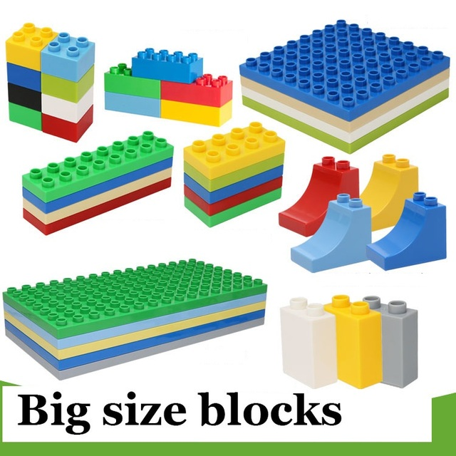 Aliexpress Buy 10 Style Big Size Assembling Building