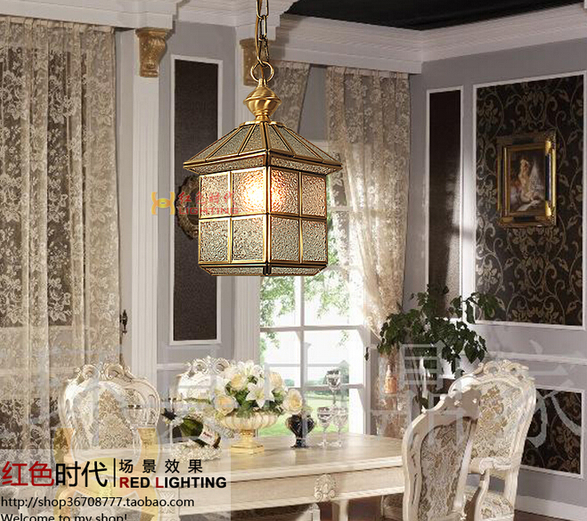 free shipping Red lighting fashion copper fitting lighting restaurant lamp hallway lights bedroom lamp with led light bulb bqc xgc50x 1 replacement projector lamp with housing for sharp pg c45s pg c45x pg c50x xg c50s xg c50x pg c45xu