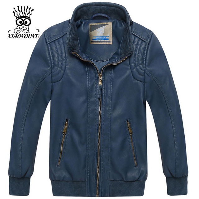 fc7198776 Sale ! Fashion Boys Leather Jacket Autumn Spring Winter Coats ...