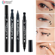 1PCS 4 Double Eyeliner Black Eyeliner Star Moon Shape 2.5g Eye Makeup Black Lasting Waterproof Makeup Tools Brand HANG FANG52244