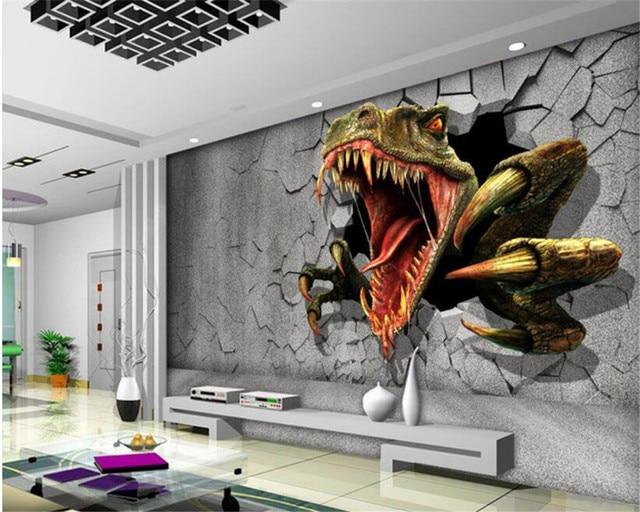 Beibehang Peinture Murale Personnalisée papier Peint Moderne Chambre ...