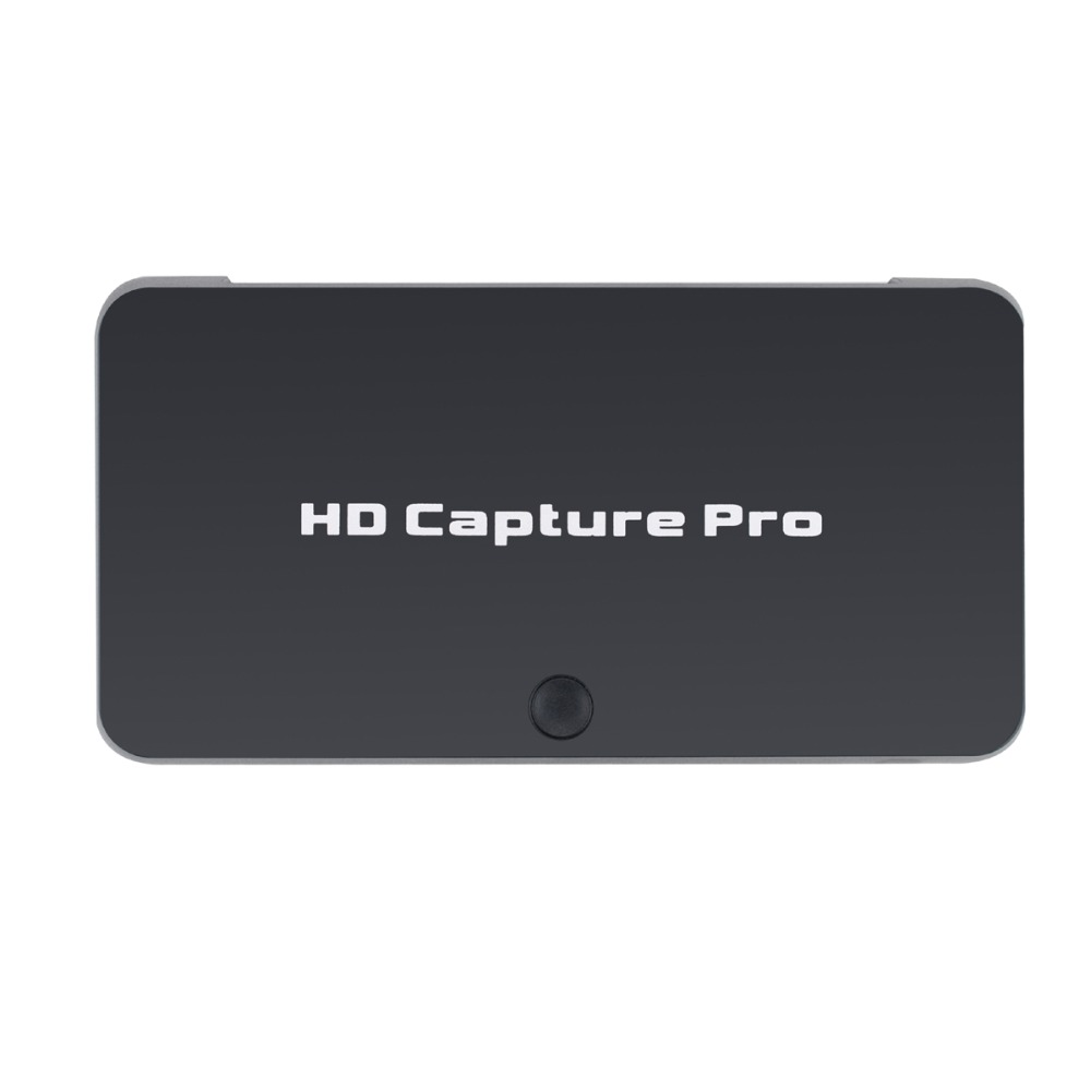 HD Video Capture Card Live Streaming 1080P HDMI Video Recorder USB 2 0 Playback with Remote