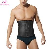 Lover Beauty Men S Waist Cincher Black Corset Plus Size 6XL Body Shaper Underwear Belly Control
