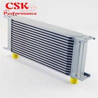 16 ряд AN8 248 мм Универсальный Масляный радиатор двигателя алюминиевый серебристый 01EGB018ASL