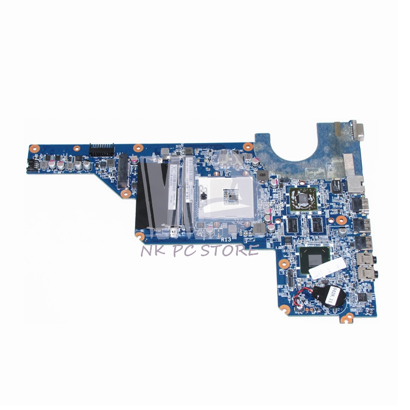 NOKOTION 650199-001 636375-001 For HP Pavilion G4 G6 G7 Laptop Motherboard HM65 DDR3 ATI HD 6470 1GB Discrete graphics nokotion 650199 001 laptop motherboard for hp pavilion g4 g7 hm65 mobility radeon hd ddr3 mainboard mother boards