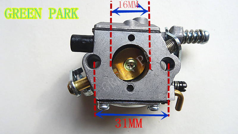 Best quality 3800 38cc 4100 41cc Chainsaw CARB for Chain Saw parts WALBRO Carburetor type high quality carburetor carb carby for husqvarna partner 350 351 370 371 420 chainsaw poulan spare parts walbro 33 29