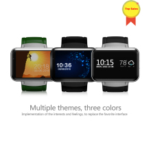 Bluetooth Smart Watch 2.2 inch Android OS 3G Smartwatch Phone MTK6572A Dual Core 1.2GHz 512MB RAM 4G ROM Camera WCDMA GPS v DM98 scls zgpax s8 1 54 inch android 4 4 kitkat os dual core unlocked 3g sim smart phone smart wristwatch black
