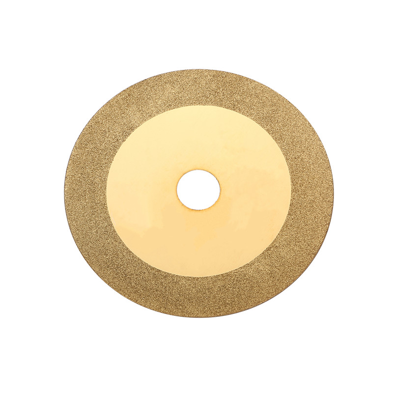 100mm Diamond Cutting Electroplated Glass Saw Blade Grinding Disc Grain Fineness <font><b>150</b></font> Rotary Tool Drill image