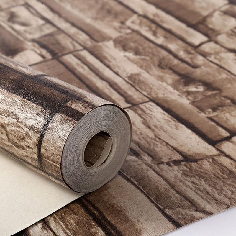 Buy 10m 3d wallpaper roll vintage effect natural embossed for 3d wallpaper roll