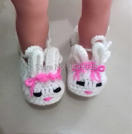 Crochet baby shoes sandals for girls infant girl flowers milk cotton yarn custom 2 different pairs a lot