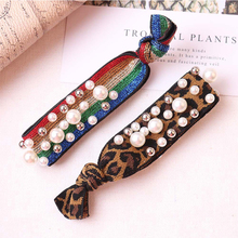 1pcs Multi color Size Pearls hair holders elastic bands for hair for girls women Horsetail tie rubber Band hair accessories x028 игра каррас неньютоновская жидкость x028