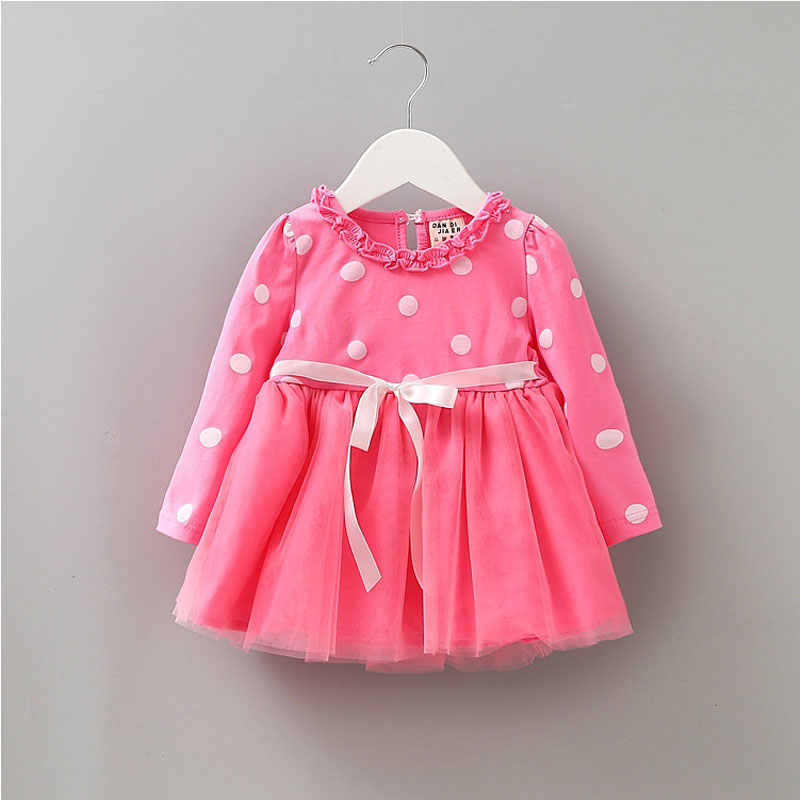 2017 осенне-зимняя одежда для новорожденных, платье для маленьких девочек, одежда для маленьких принцесвечерние, Праздничные рождественские платья, платье-пачка, vestidos