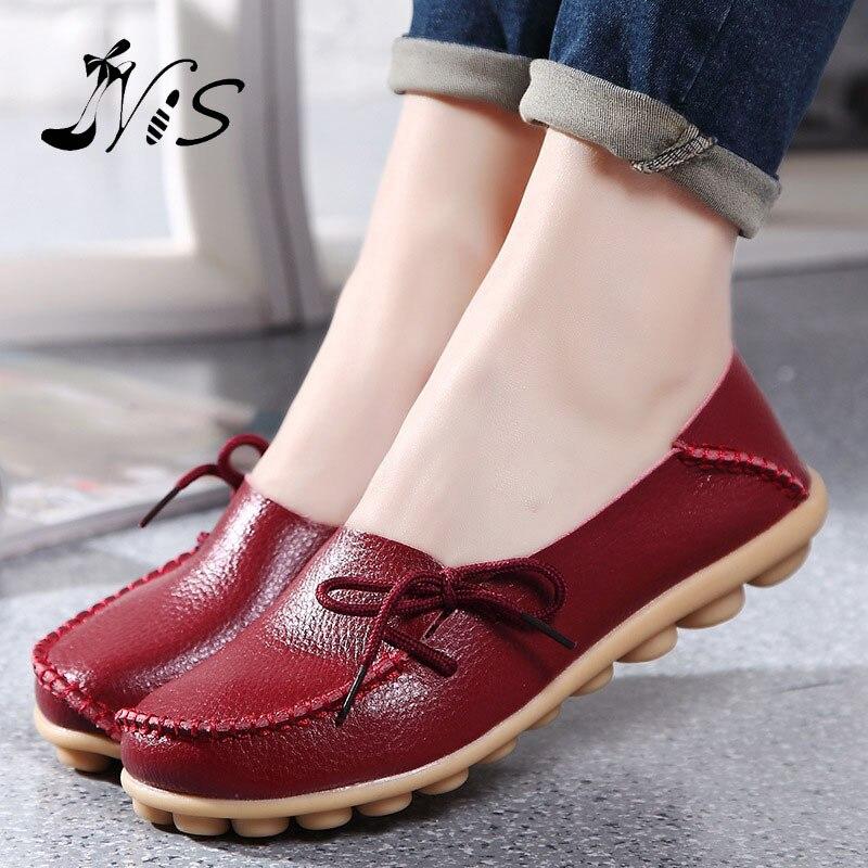 abbaae838 Venta caliente de cuero Beanie mujeres zapatos moda verano primavera ...