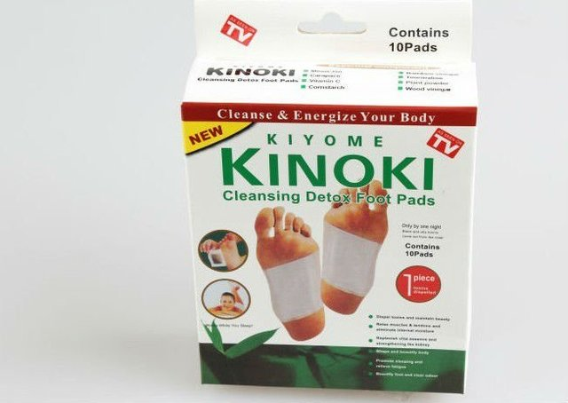 100% Certified Item! 100pcs/lot Free Shipping Kinoki Detox Foot Pads Patches with Adhesive
