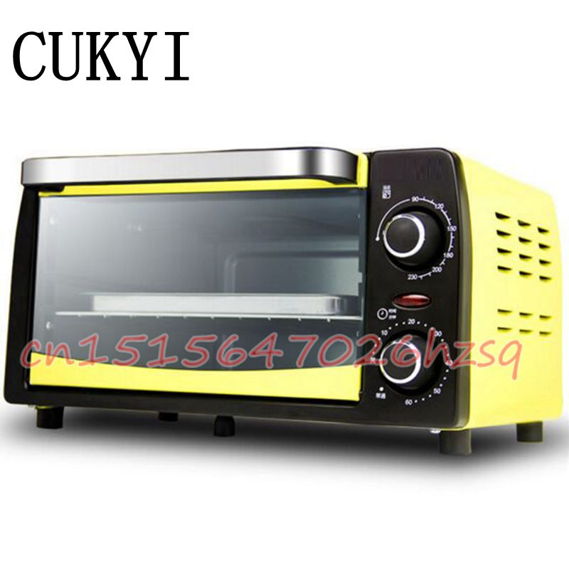 CUKYI Mini oven baking White and Yellow 10L Household Chinese medicinal herbs drying box Drying oven kh 101 0s pointer stainless inner drying oven constant temperature blast drier industrial drying cabinet instrument baking box