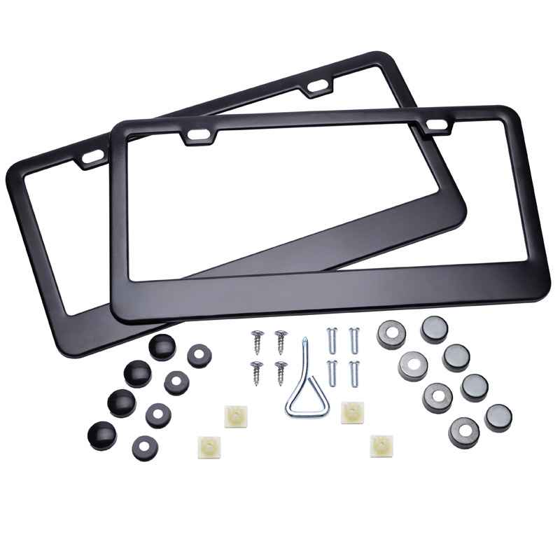 Buy license plate frame stainless steel and get free shipping on ...