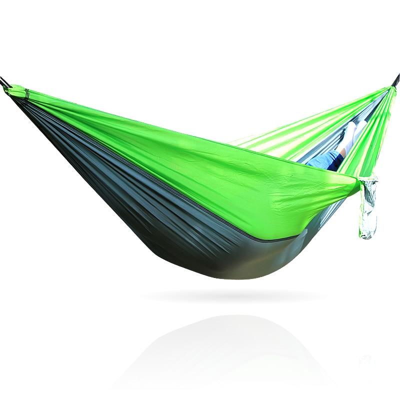 Portable Lightweight Camping Hammock Parachute Fabric Hammock