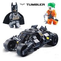 Decool 7105 DC Super Heroes Batman The Dark Knight Tumbler Building Block Brick Toys For Children