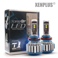 Factory Direct Auto Car T1 Led Headlight Bulbs Kit H8 H11 Led Headlights