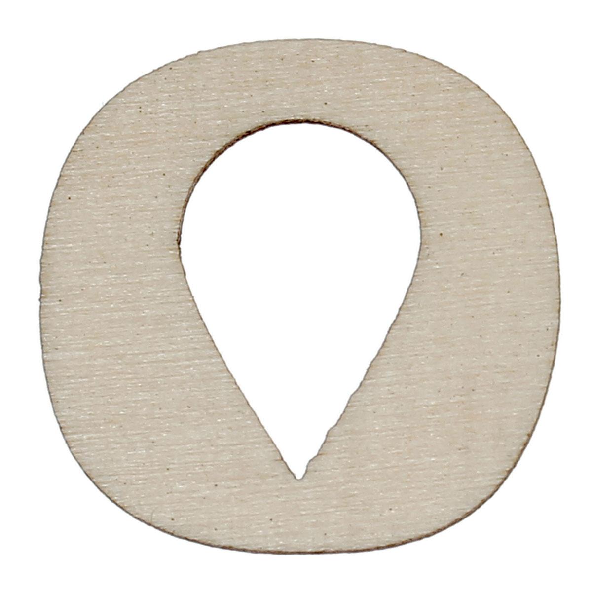 59f97fffef Legno scrapbooking ornati e decori art craft collection quadrato naturale  goccia hollow 25mm (1 ) x 25mm (1), ...