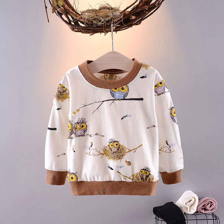 Mother & Kids Boys' Baby Clothing Baby Toddler Kids Girls Boys Spring Autumn Striped Audel Cotton Jacket Coat Bear Embroidery Kids Cardigan G211