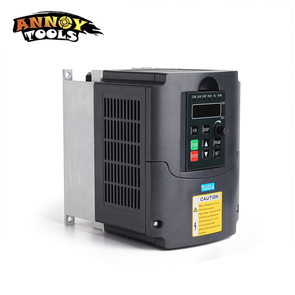 7.5KW 220V 3 Phase Input And 3 Phase Output Frequency Converter / Adjustable Speed Drive / Frequency Inverter / VFD