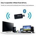 Bluetooth Audio Music Transmitter For Computer TV USB Bluetooth 3.5mm Audio Music Receiver Adapter