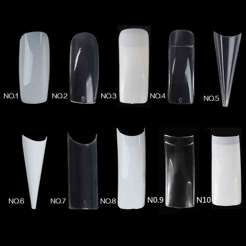 Lily Angel Hot Sale 500 Nail Tips Natural French Acrylic