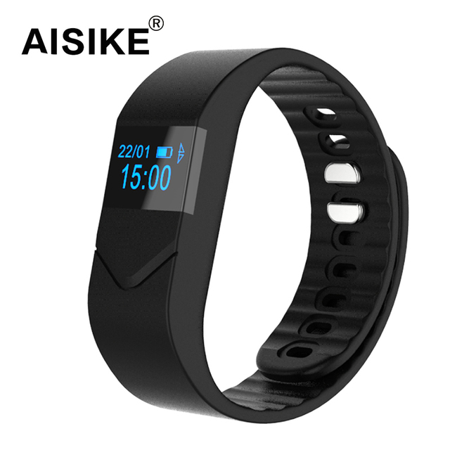 AISIKE Blood Pressure Blood Smartband Heart Rate Monitor M5 Bluetooth Smart Band Bracelet Sport Watch Wristband for iOS Android