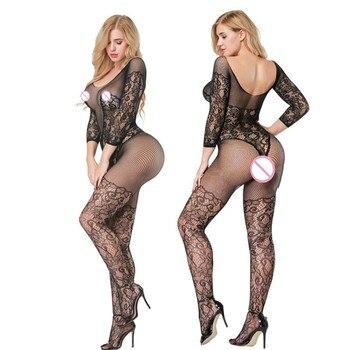 8c46ae7677d71 Las mujeres muñeca Sexy lencería Sexy Plus La talla caliente ropa interior  vestido de rejilla de sexo trajes Sexy fina erótica