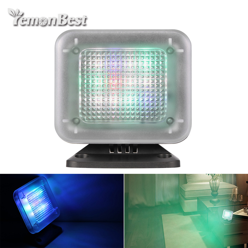 LED TV Simulator Fake TV Rotatable USB Powered Anti burglar Home Security Device with Timer Function Dropship Support-in LED Night Lights from Lights & Lighting