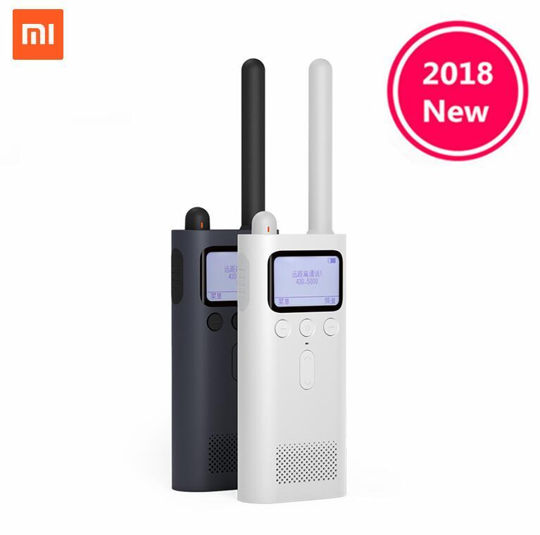 2018 talkie-walkie intelligent Xiaomi Mijia avec haut-parleur de Radio FM en veille emplacement de l'application de téléphone intelligent partager la discussion d'équipe rapide en gros