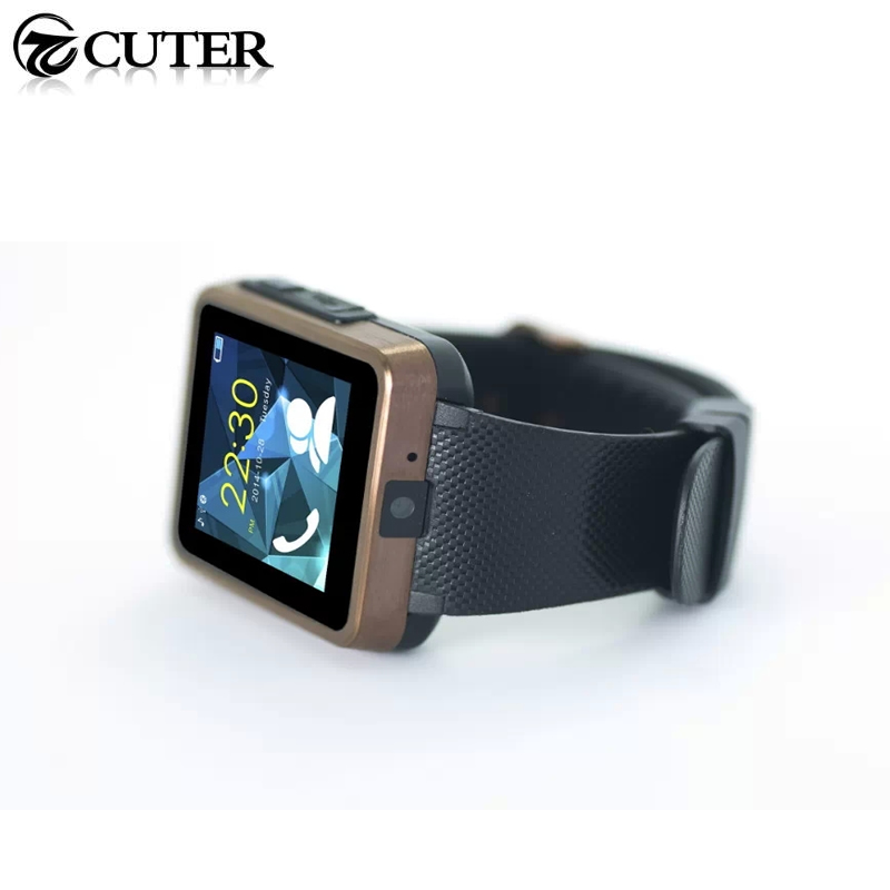 2015 New Smart Watch F1 font b Smartwatch b font Wrist waterproof for Android Phone With