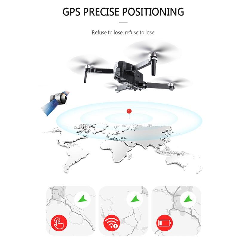 SJRC F11 GPS Drone Avec Wifi FPV 1080 P Caméra Brushless quadrirotor 25 minutes temps De vol Geste Contrôle Pliable Dron vs CG033 - 2