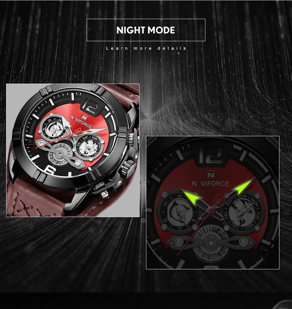 jpg Naviforce Men Watch Leather Army Military Retro Steampunk Sports Male Quartz Watch Wristwatch With Date Hodinky Relojes Hombre (6)