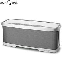 iDeaUSA W200 Bluetooth Wi-fi Moveable Audio system with MIC 4000mAh Battery Stereo Premium Audio from 10W Drivers & 10W Subwoofer