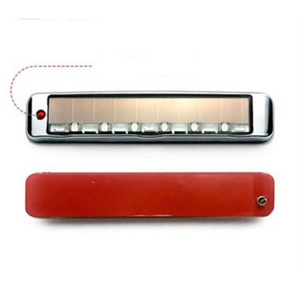 Solar Anti-Static Anti-Collision Light Led Multi-Function Warning Light Static Door Edge Glue Car Decoration Light