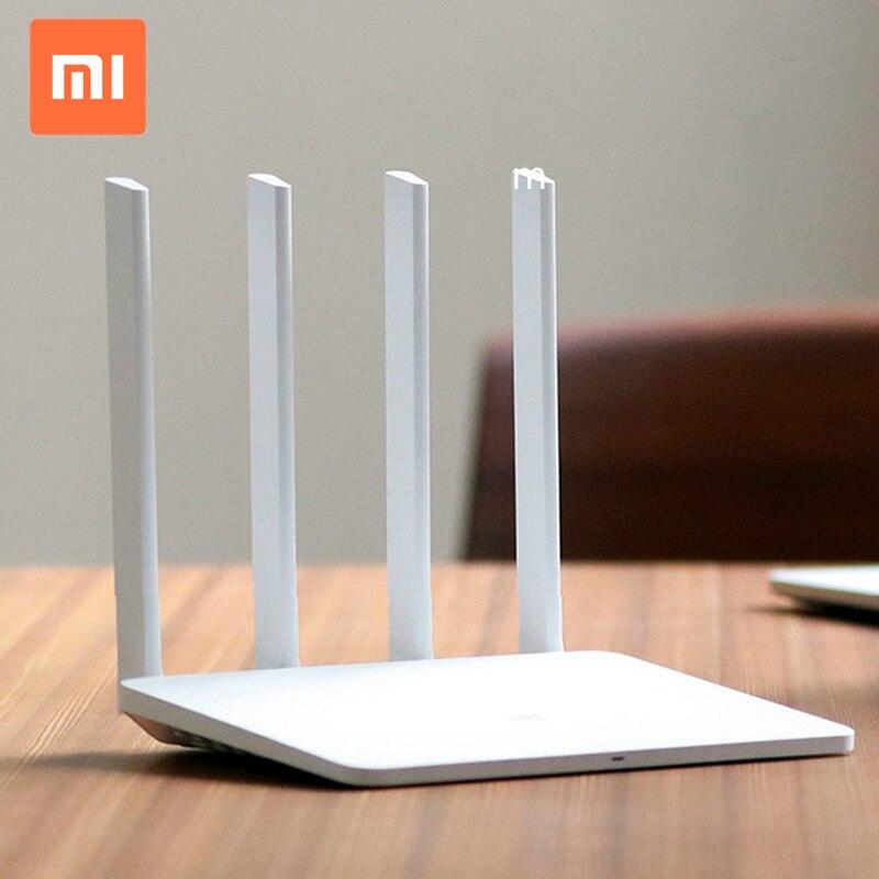 Xiao mi routeur 3g Portable 3g 4g Modem quatre antennes externes haute Performance 1167 mbps Xiao mi Home WiFi routeur 1 km
