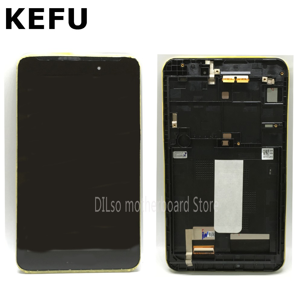 KEFU Panel LCD For <font><b>ASUS</b></font> Fonepad 7 ME70C K01A FE170CG ME170C ME70C-1A <font><b>K012</b></font> ME170 K017 LCD Screen Assembly original in stock image