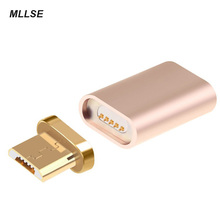 MLLSE Micro USB Magnetic Charger Cable Adapter For SAMSUNG HUAWEI XIAOMI Android Automatic Adsorption Magnet Data Cable Adapter