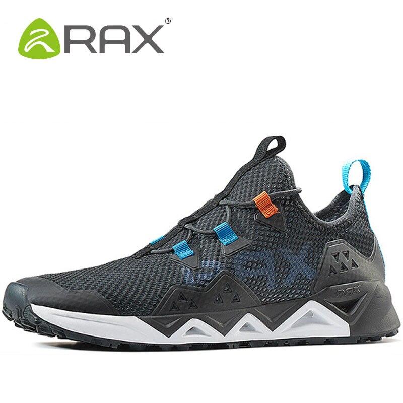 Rax Men Aqua Shoes Hiking Waterproof Walking Shoes Outdoor Athletic Man Woman Brand Trekking Sneaker Breathable Mens Sneakers rax 2015 mens outdoor hiking shoes breathable mesh suede trekking shoes men genuine leather sneakers size 39 44 hs25