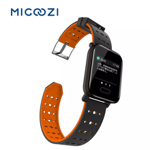 A6 Smartwatch Men Heart Rate Monitor Sport Fitness Tracker Blood Pressure Waterproof IP67 for IOS Android
