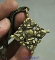 christmas Tibet Buddhism Tantra FaQi Bronze Auspicious Symbol Figurine Amulet Pendant halloween